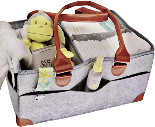 Diaper Caddy. Baby Diaper Organizer. Caddy for Your Nursery Table. Changing Table Organizer for Diapers and Wipes for Your Newborn. All-Purpose Caddy Organizer Tote Bag (Large). Arts and Crafts | 8 P ()