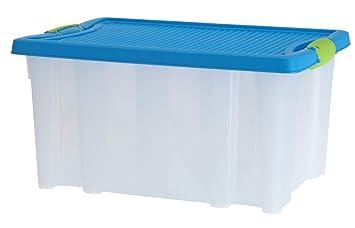 Bevorzugt LS-Design XL Stapelbox 40x28,5x20cm Allzweckkiste Deckel stapelbar GK75