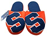 NCAA Syracuse Orangemen Men's Slippers Orange (Small (7-8))