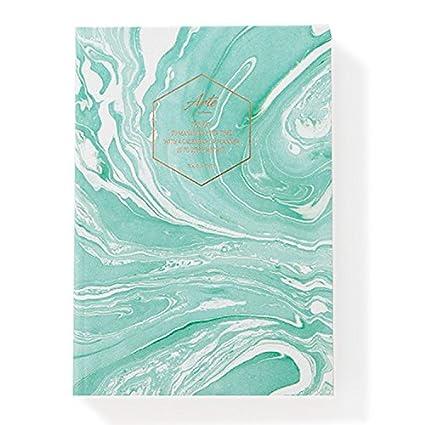 """Marble Undated Planner New Year Agenda Undated Planner Scheduler Monthly Daily Scheduler Academic Planner Organizer Diary, Hardcover, Undated, 4.9"""" ..."""