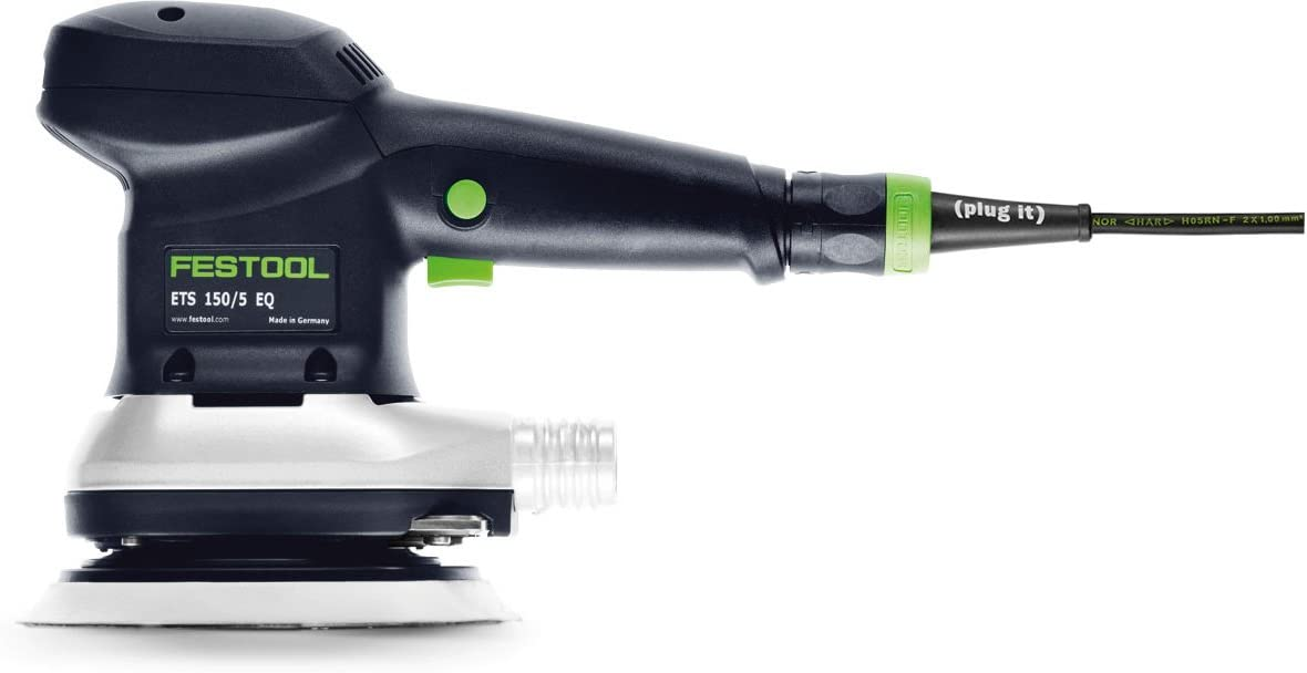 Festool 571916 ETS 150 5 EQ Random Orbital Finish Sander