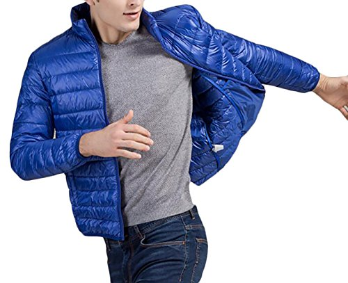Generic Men's Packable Down Jacket Weatherproof Winter Coat 1