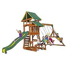 Backyard Discovery 65411 Tucson All Cedar Playset Swing Set
