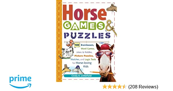 Horse Games Puzzles 102 Brainteasers Word Games Jokes Riddles