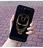 Best unknown Iron Man Suits - Black Iron Man Symbol iPhone 7 Plus Case Review
