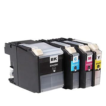 GYBN - Cartucho de Tinta para Impresora Brother LC549 LC545 dcp ...