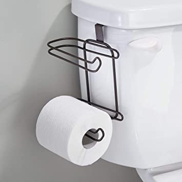 Amazon MDesign Toilet Paper Roll Holder For Bathroom Storage Stunning Bathroom Paper