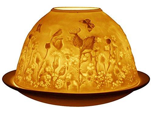 Welink Light-Glow Tealight Candle Holder, Scottish Thistle