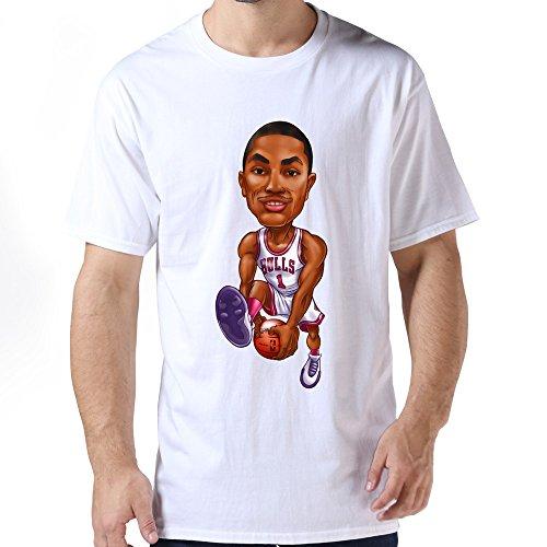 Derrick Rose Tee Shirts For Mens