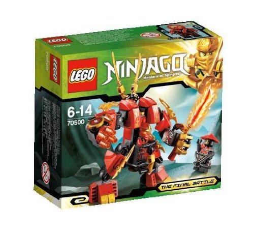 lego fire robot - 3