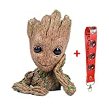#7: GuangTouL Groot Action Figures Guardians of The Galaxy Flowerpot Baby Cute Model Toy Pen Pot Best Gifts