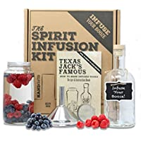 The SPIRIT INFUSION KIT - Infuse Your Booze! 70+ Homemade Flavored Vodka Recipes.