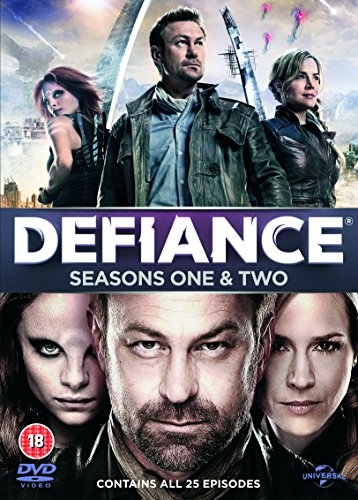 Pal Format - Defiance (Seasons 1 & 2) - 9-DVD Box Set ( Defiance - Seasons One and Two (25 Episodes) ) [ NON-USA FORMAT, PAL, Reg.2.4 Import - United Kingdom ]