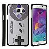 TurtleArmor | Compatible for Samsung Galaxy Note 5 Case | N920 [Slim Duo] Two Piece Hard Cover Slim Snap On Case on Black – Classic Game Controller For Sale