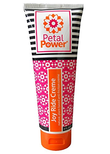 Petal Power Joy Ride Women's Natural Anti-Chafe Chamois Cream for Cycling by Petal Power