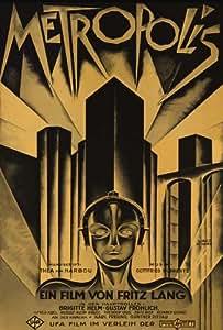 Metropolis Poster (27 x 40 Inches - 69cm x 102cm) (1926) German Style D