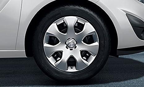 """Original Opel Meriva B Acero 16 """"Cubierta de la rueda de plástico juego de"""
