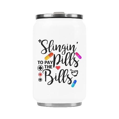Amazon.com: 10.3 ounces taza de viaje de café Slingin ...
