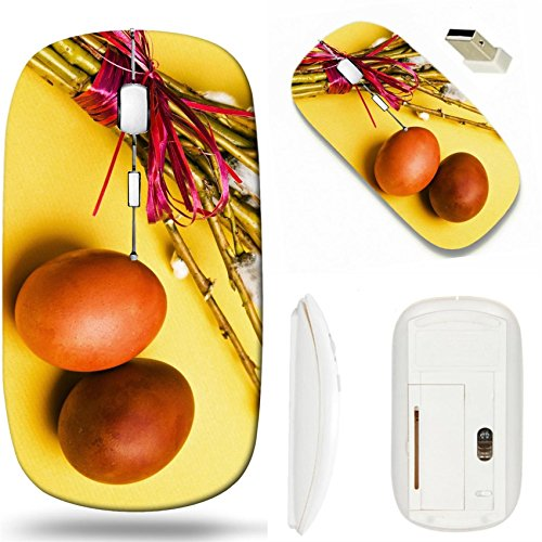 MSD Wireless Mouse White Base Travel 2.4G Wireless Mice with USB Receiver, Noiseless and Silent Click with 1000 DPI for notebook, pc, laptop, computer, mac book design 19267252 bunch of willow branche (Red Branches Willow For Sale)