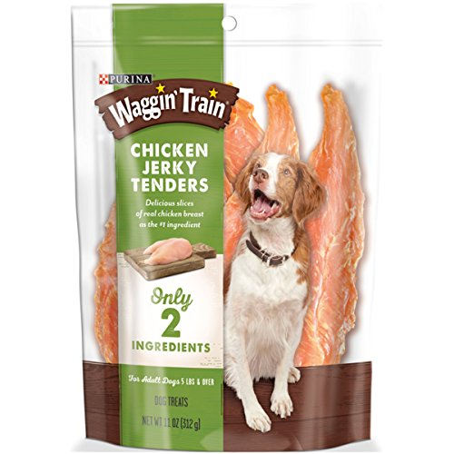 Purina Waggin' Train Chicken Jerky Tenders Dog Treats, 11 oz. Pouch