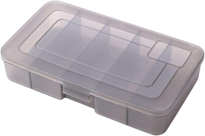 Ohhome Señuelos de Pesca de plástico Cebo Gancho Aparejos Caja de Almacenamiento Caja Contenedores de contenedores: Amazon.es: Deportes y aire libre