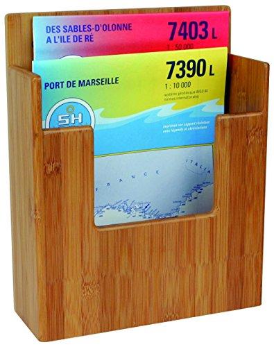 Bamboo Marine System Bambus Halter - Karten-/ Zeitschriften-Halter