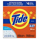 Tide Original HE Turbo Powder Laundry Detergent, 30 Loads, 42 Oz
