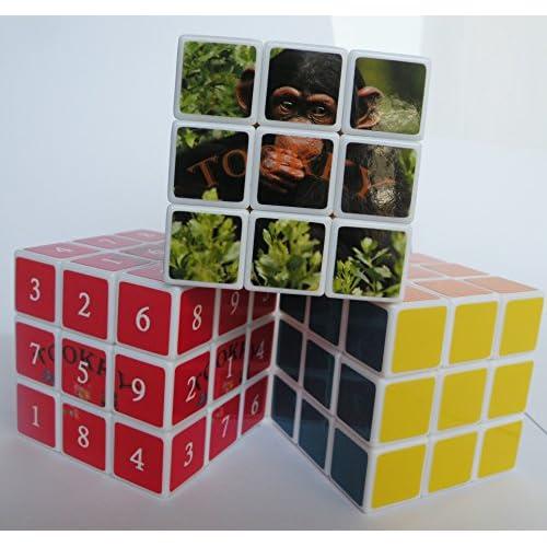 best Sudoku-Cube, Magic-Cube & Animal Magicube - 3 Speed