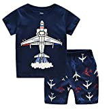 LaLaMa Toddler Boys' Cotton Clothing Short Baby Sets