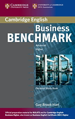 Business Benchmark: Advanced. Personal Study Book