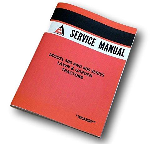 (Allis Chalmers 300 Series 310 D 312 D H 314 D H Tractors Service Repair Manual)
