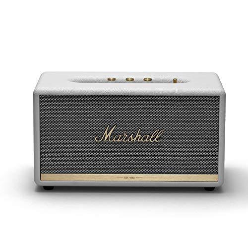 Marshall Stanmore II Wireless Bluetooth Speaker, White – New