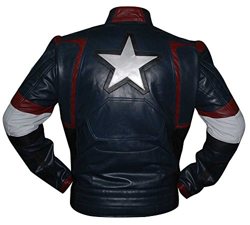 Ultron of Men's Faux Jacket Age Captain America t0wgEq0z