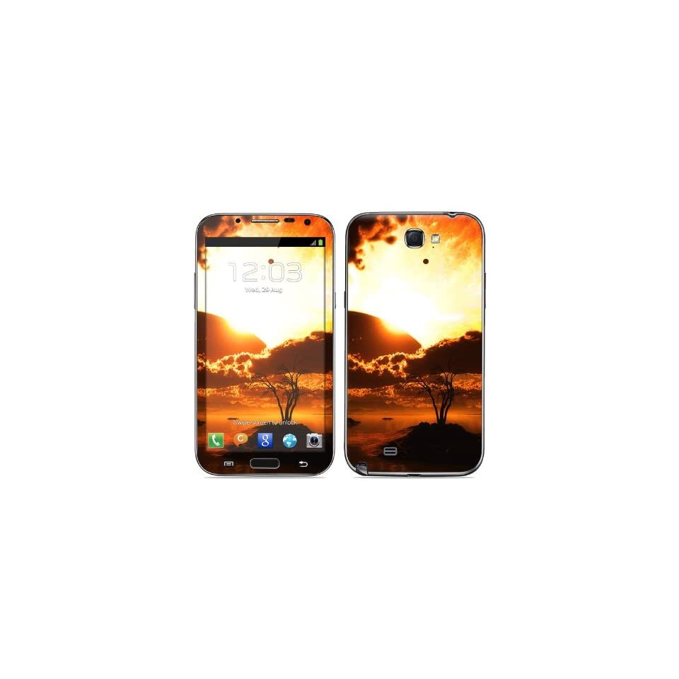 Beginning Of The End Design Protective Decal Skin Sticker (High Gloss Coating) for Samsung Galaxy Note II GT N7100 Cell Phone Cell Phones & Accessories