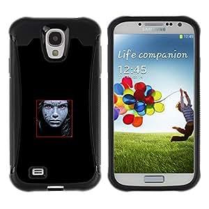 "Hypernova Defender Series TPU protection Cas Case Coque pour Samsung Galaxy S4 IV I9500 [Cara abstracta""]"