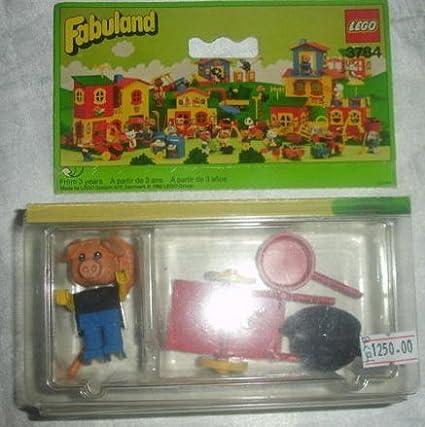 Amazoncom Lego Fabuland Hugo Hog The Tinker 3784 Toys Games