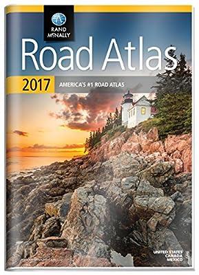Rand McNally 2017 Gift Road Atlas (Durable vinyl cover) (Rand Mcnally Road Atlas United States/ Canada/Mexico (Gift Edition))