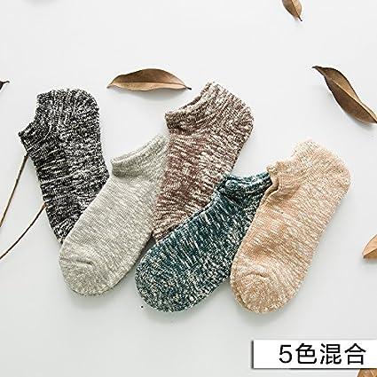 Retro tejer algodón toalla gruesa calcetines cálidos días de otoño e invierno calcetines gruesos masculino nacional