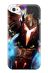 Shock-dirt Proof World Of Warcraft Game Case Cover For Iphone 4/4s