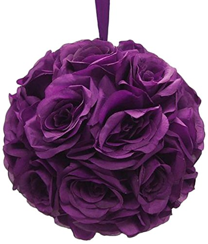 Click to buy Wedding Reception Decoration Ideas: Kissing Rose Ball from Amazon!