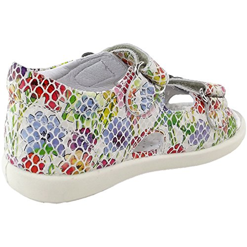 Naturino 1625 Falcotto Piton multicolor Flowers multicolore Enfant By Sandales Blanc Petit 4r4q6fE