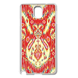 Kasbah Persimmon Samsung Galaxy Note 3 Cell Phone Case White&Phone Accessory STC_115262