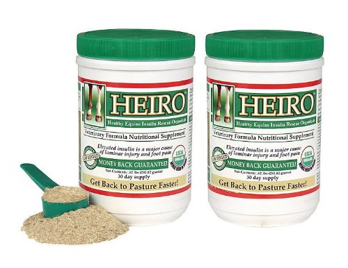Heiro Healthy Equine Horse Insulin Resistant Rescue Organicals 30, 40, 60, 90, or 180 Day Supply (60 Servings)