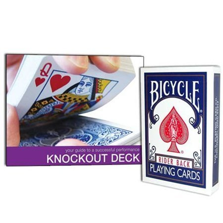 UPC 714447650994, Magic Makers Bicycle Knockout Deck - Includes Instructional Guide