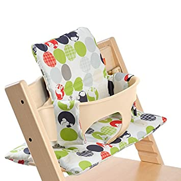 Feeding Baby Stokke Tripp Trapp Cushion Pretty And Colorful