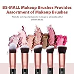 BS-MALLTM-Makeup-Brushes-Premium-14-Pcs-Synthetic-Foundation-Powder-Concealers-Eye-Shadows-Silver-Black-Makeup-Brush-Sets
