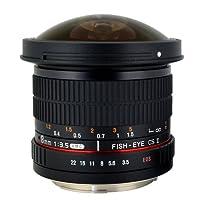 Rokinon HD8M-FX HD 8mm F3.5 Fisheye Lens Deals