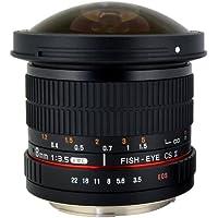Rokinon HD8M 8mm f/3.5 HD Fisheye Lens with Removable Hood for Fujifilm X Mount
