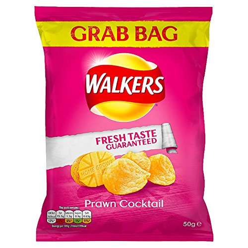 (Walkers Grab Bag (50gx32) (Prawn Cocktail))