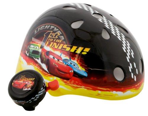 Amazon.com : Cars Boys Toddler Hardshell Helmet (Black) : Bike Helmets : Sports & Outdoors